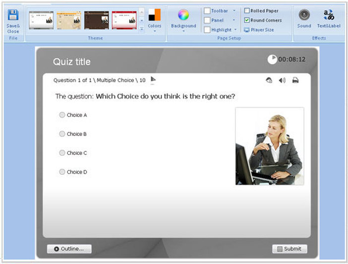 Quiz Template Word Quiz Card Template Word Permalink To Powerpoint